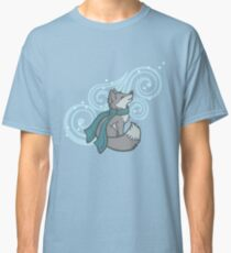 Swirling Snow Fox Classic T-Shirt