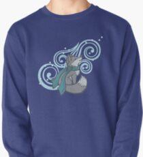Swirling Snow Fox Pullover