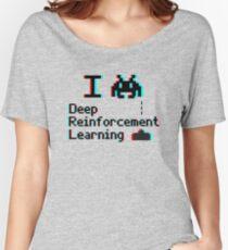 I heart deep reinforcement learning (8-bit 3D) Women's Relaxed Fit T-Shirt
