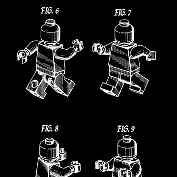 Lego Patent Sketch by byruit