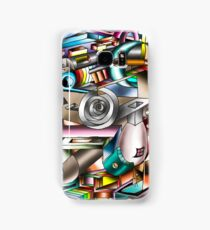 The illusion of City life Samsung Galaxy Case/Skin