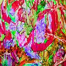 Abstract in Red by marlene veronique holdsworth