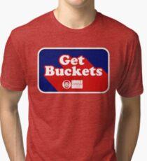 I Get Buckets Tri-blend T-Shirt
