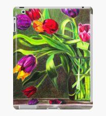 Cascading Tulips iPad Case/Skin