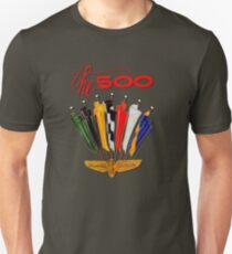 Vintage Indy 500 Poster recreated by UrbanHero Unisex T-Shirt