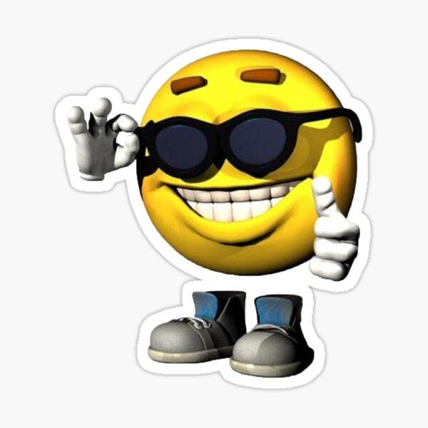 Smile Meme Guy Sticker