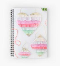 Fringe Hearts Spiral Notebook