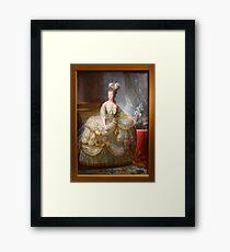Queen Marie-Antoinette 1783 Framed Print