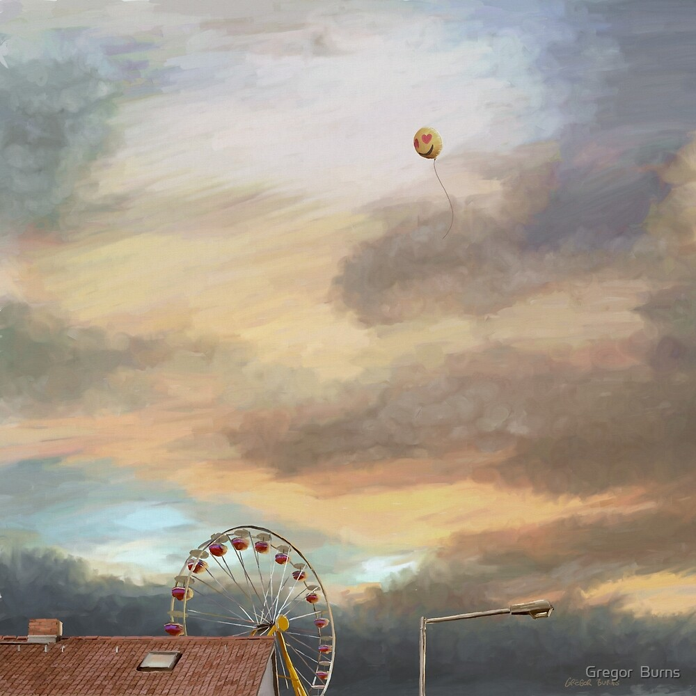Walking home from the fair by Gregor  Burns