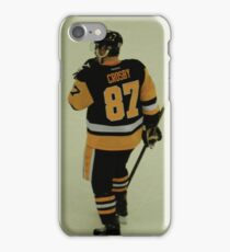 Sidney Crosby - 87 - Pittsburgh Penguins - Black and Gold - Hockey iPhone Case/Skin