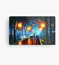MISTY MOOD - Leonid Afremov Metal Print