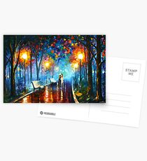 MISTY MOOD - Leonid Afremov Postcards