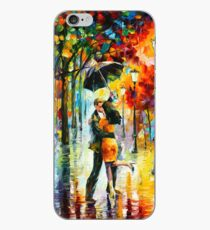 DANCE UNDER THE RAIN - Leonid Afremov iPhone Case
