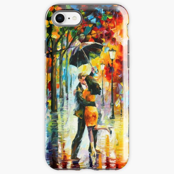 DANCE UNDER THE RAIN - Leonid Afremov iPhone Tough Case