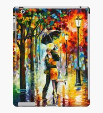 DANCE UNDER THE RAIN - Leonid Afremov iPad Case/Skin