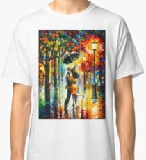 DANCE UNDER THE RAIN - Leonid Afremov Classic T-Shirt