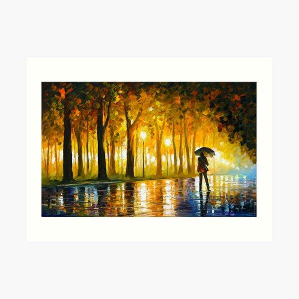 BEWITCHED PARK - Leonid Afremov Art Print