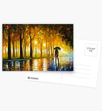 BEWITCHED PARK - Leonid Afremov Postcards