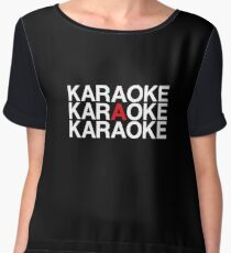 KARAOKE Women's Chiffon Top