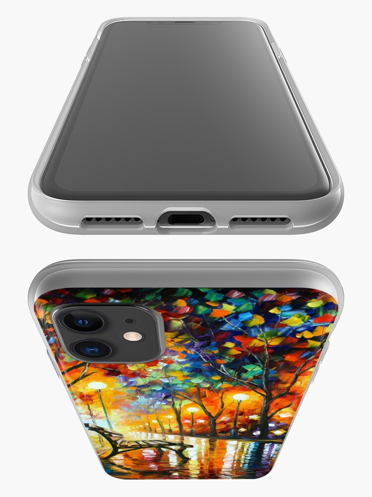 Alternate view of THE LONELINESS OF AUTUMN - Leonid Afremov iPhone Case & Cover