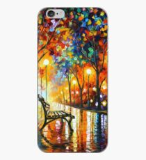 THE LONELINESS OF AUTUMN - Leonid Afremov iPhone Case