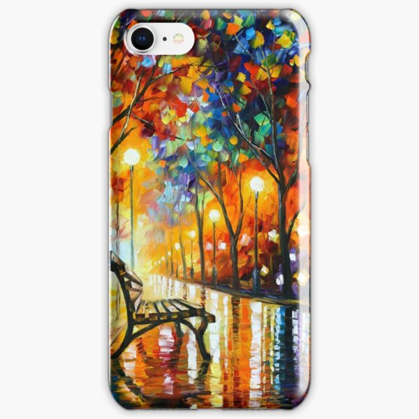 THE LONELINESS OF AUTUMN - Leonid Afremov iPhone Snap Case