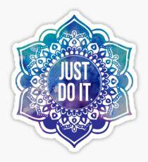 Just Do It Nike Mandala Sticker