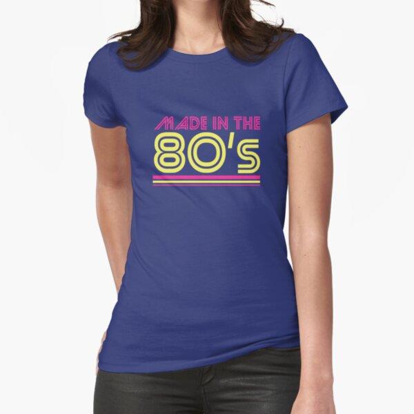 Hecho en los años 80 Camiseta entallada