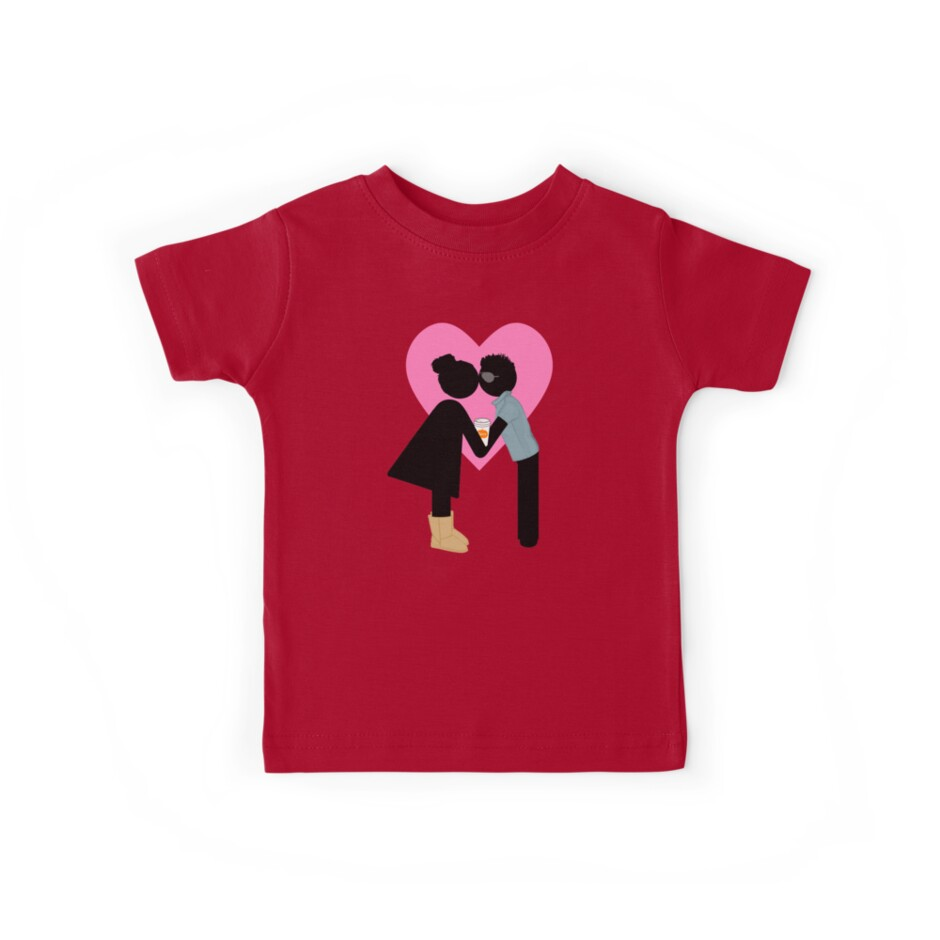 Basic College Girl And Frat Bro Funny Valentine S Day Kids Tees