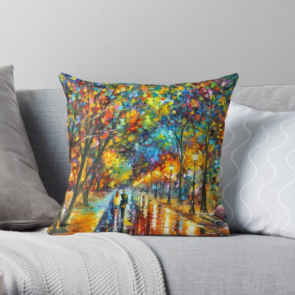 WHEN THE DREMS CAME TRUE - Leonid Afremov Throw Pillow
