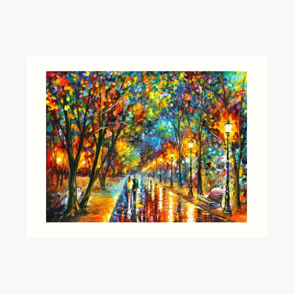 WHEN THE DREMS CAME TRUE - Leonid Afremov Art Print