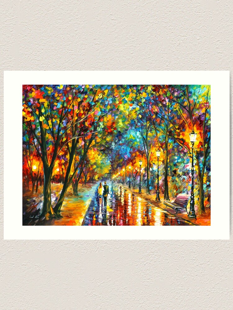 Alternate view of WHEN THE DREMS CAME TRUE - Leonid Afremov Art Print