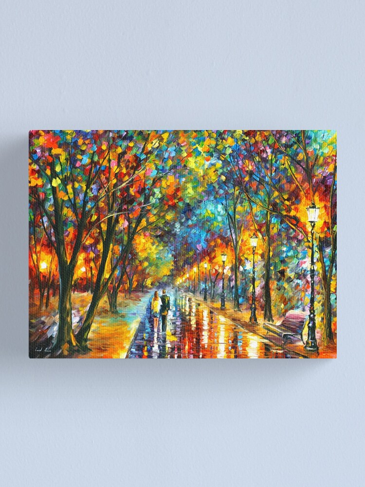 Alternate view of WHEN THE DREMS CAME TRUE - Leonid Afremov Canvas Print