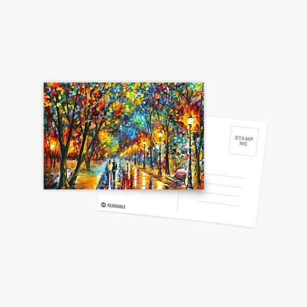 WHEN THE DREMS CAME TRUE - Leonid Afremov Postcard