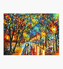 WHEN THE DREMS CAME TRUE - Leonid Afremov Photographic Print