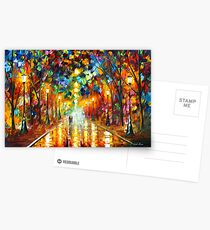 FAREWELL TO ANGER - Leonid Afremov Postcards
