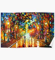FAREWELL TO ANGER - Leonid Afremov Poster