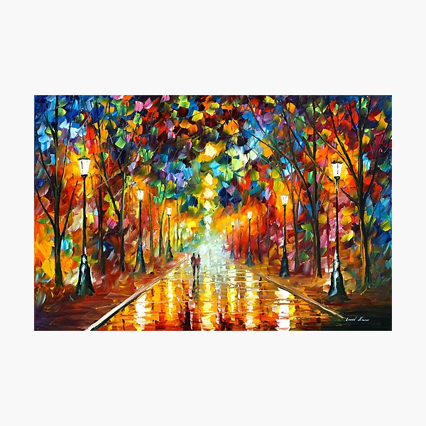 FAREWELL TO ANGER - Leonid Afremov Photographic Print