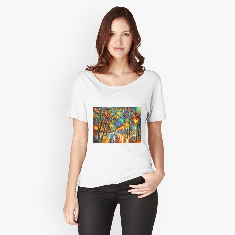 WHEN THE DREMS CAME TRUE - Leonid Afremov Relaxed Fit T-Shirt