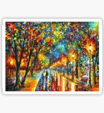 WHEN THE DREMS CAME TRUE - Leonid Afremov Sticker