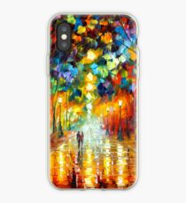 FAREWELL TO ANGER - Leonid Afremov iPhone Case