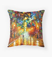 FAREWELL TO ANGER - Leonid Afremov Throw Pillow