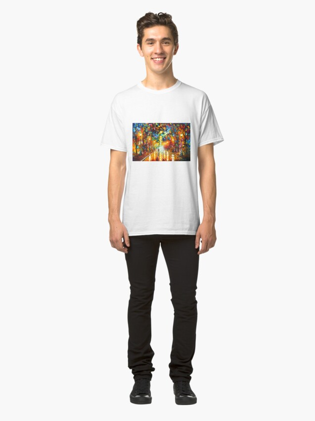 Alternate view of FAREWELL TO ANGER - Leonid Afremov Classic T-Shirt
