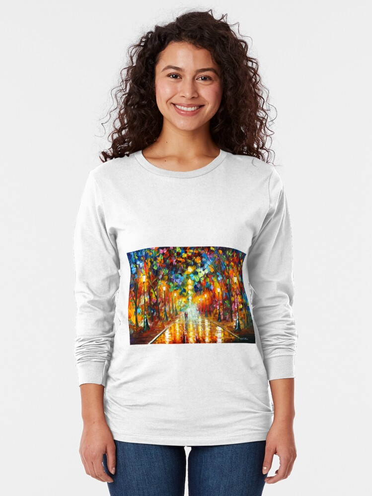 Alternate view of FAREWELL TO ANGER - Leonid Afremov Long Sleeve T-Shirt