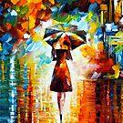 «princesa de la lluvia - Leonid Afremov» de Leonid Afremov