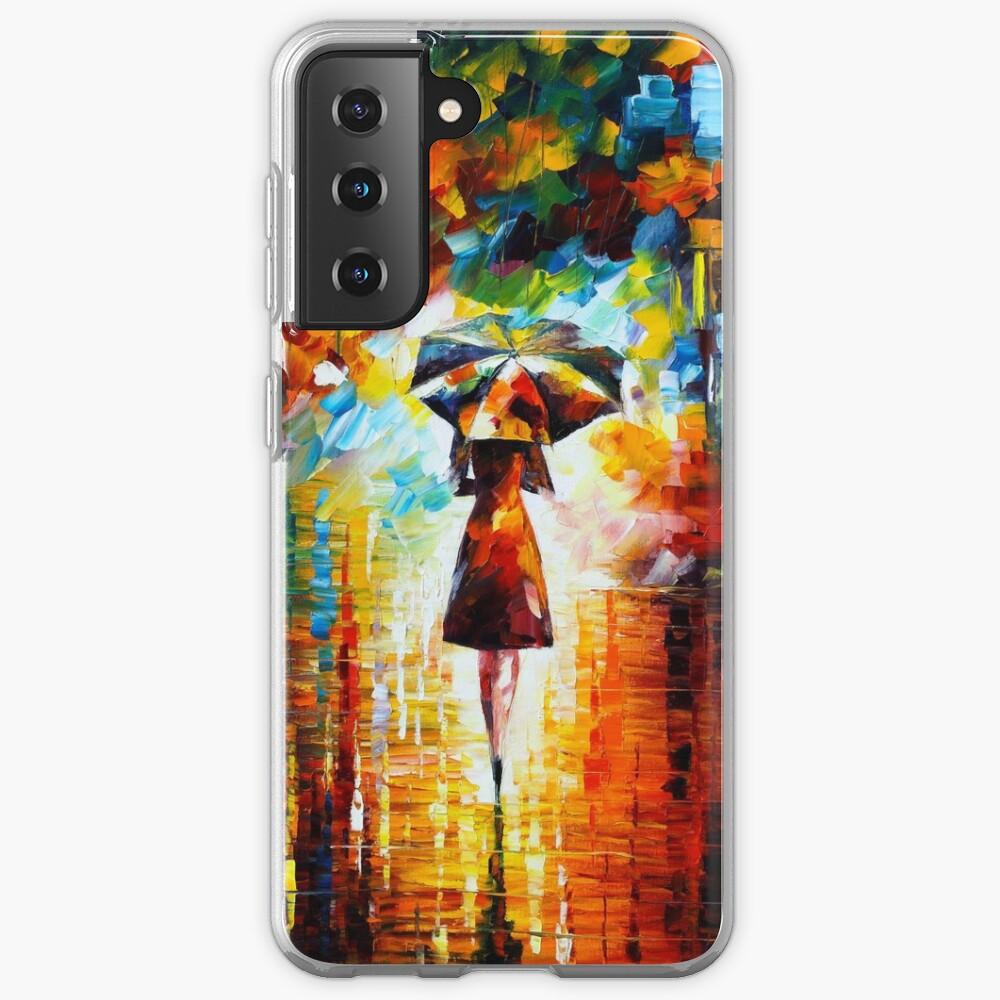 rain princess - Leonid Afremov Case & Skin for Samsung Galaxy