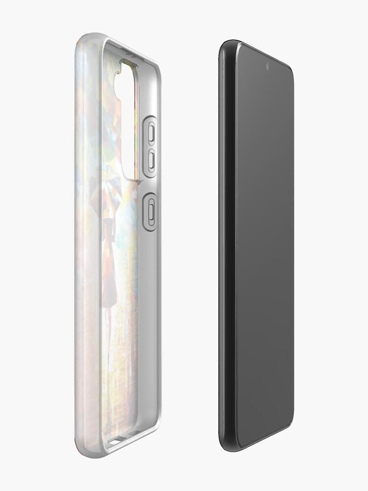 Alternate view of rain princess - Leonid Afremov Case & Skin for Samsung Galaxy