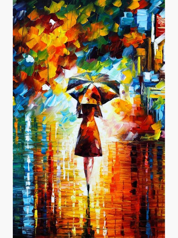 rain princess - Leonid Afremov by vitebskart