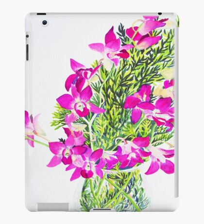 Singapore Orchids iPad Case/Skin