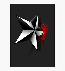 Star of Death Photographic Print